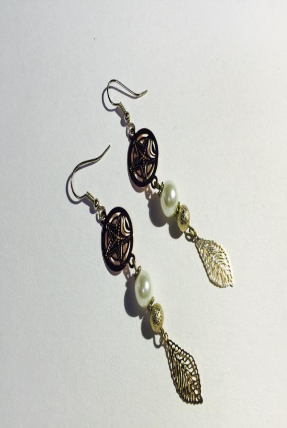 Indian Gold Summer Earrings